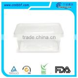 Best selling Lowest Price Clear cookies Plastic Food Container Food Grade Plastic Container
