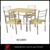 Hot sale modern dining table set, malaysia dining table set                                                                         Quality Choice