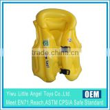 PVC Inflatable Blue Safety Vest