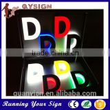 High Illuminated Large 3D Letter Sign Light Advertising Led Letters                                                                         Quality Choice