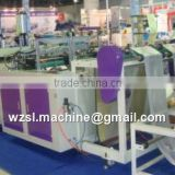Fully Automatic High Speed T-shirt Bag Making Machine (Speed: 440 bags/minute when making t-shirt bag with printed logo)