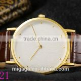 china factory made wholesale quartz custom your logo classic leather top sale alloy couple watches