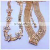 2016 New Design Sexy Fashion Rhinestone Gold Waist Chain For Belts                                                                         Quality Choice
