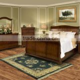 Whitley Court Queen Sleigh Panel Bed / antique bedroom set furniture AS-B1
