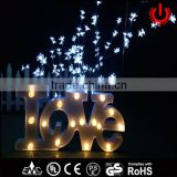 LED peach blossom courtyard decoration christmas tree lights