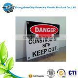 Corflute Signs board for Business Promotion/corrugated plastic sheet/plastic corrugated board