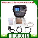 Super ND900 Auto Key Programmer with 4D and 46 Decoder professional car key duplicator ND 900 directly copy all of 4D 4C chip