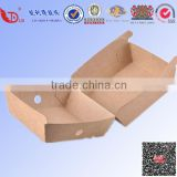Professional kraft paper fried chicken box takeaway food packaging                                                                         Quality Choice