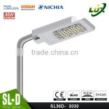 2016New CE Rohs 5 years warranty slim design SMD chip aluminum 100w LED street light                                                                         Quality Choice