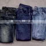 ladies jeans Grade A China factory directly sale premium mixed warehouse bulk wholesale second hand used clothing