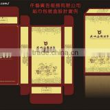 High quanlity noble design perfume box design using packing bags the perfume china supplier