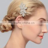 Rhinestone Pearl Flower Leaves Bridal Hairband Headpiece Weddings Headpiece for Women                                                                         Quality Choice
