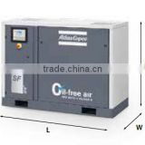 oil- free lubrication style ac power source scroll air compressor for 8 bar air compressor