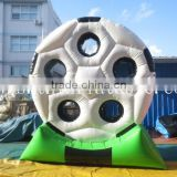 inflatable football shooting goal / shooting target football goal