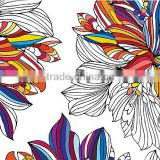african print chiffon wholesale fashion flower polyester digital printed fabric animal print