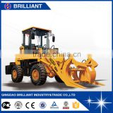 Made in China 1.5 ton Small Garden Tractor Loader Backhoe