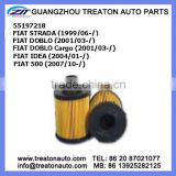 OIL FILTER 55197218 FOR FIAT STRADA 99- DOBLO 01- DOBLO CARGO 01- IDEA 04- 500 07-