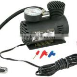 300 PSI 12V Mini Air Compressor 12 Volt Emergency Car and Truck Tire Pump (with adapters to inflate balls, rafts, etc)