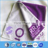 2015 China Wholesale Yarn dyed jacquard Cotton Terry cloth Sports Face Towels