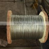 7*0.8mm, 7*0.9mm, 7*1.0mm Galvanized Steel Wire Strand for Messenger Wire, Optic Fiber Cable