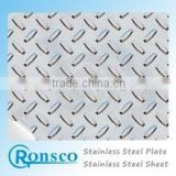 2016 top quality Stainless Steel Sheet Ss 304 Color Plate Embossed/etched With Golden /Shampinege/Rose