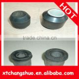 Auto parts black rubber bushing Manufactor small conveyor belt silicone rubber bellow