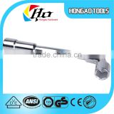 Universal T type socket wrench,stainless steel socket spanner