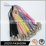 Hot selling cheap woven keychain,mini keychain mobile phone/
