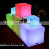 table furniture/LED cube&chairLED chair& bar stool led ball light outdoor china supplier