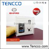 TENCCO Top quality vapor wholesale rebuildable dripper ehpro nixon v2 rda with bell cap glass tank atomizer