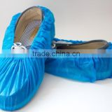Hot-selling Disposbale PE shoe cover / Waterproof CPE shoe cover/ Nonwoven PP Anti-skid Shoe Cover
