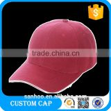 In Stock Outdoor Mens Fashion Plain Flex Fit Adjustable Baseball Caps Sports Hats Cotton 6 Panel