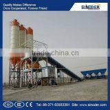 Sinoder Brand HZS series belt type concrete batching plant includes HZS60 (60m3/h) mobile concrete batching plant, HZS90