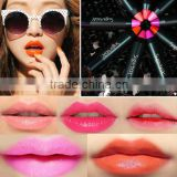 Newest 12 Fashion Colors Name Sugar Box Mini Water Sense Lip Stick Lipstick Pencil, Long Lasting than Kiss proof
