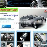 Chinese Manufacturer Supply One Way Keyless Entry Push Button Start with Car alarm for Mitsubishi Pajero
