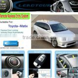 Keyless Entry and Remote Central Lock with RFID Car Security System Automatic Windows Close for Toyota Matrix