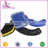 PRO Top Quality Pet Brush Perfect Slicker Brush For Dogs Unique Self Cleaning Cat Brush Removes Those Mats                                                                         Quality Choice