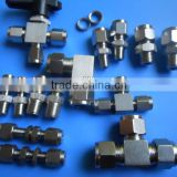 ss304 316L tube fittings straight coupling