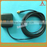 Antenna Manufacturer SMA Male Connector Magnetic Mount RG174 3M cable 5dBi tracking glonass gps sma antenna