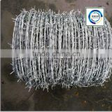 Galvanized Barbed wire, high quality barbed wire fence, barbed wire price, barbed wire length per roll