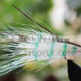 Bucktail Hair Peacock Hair Salmon fly Trout Fly fishing lures