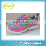 fancy design colorful china kids shoes girls
