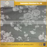 For the production of ladies skirts, suits, coats, pants Solid Dye Polyester Cotton Spandex Jacquard Textile Fabric
