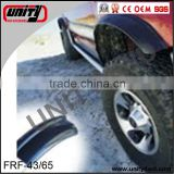 China truck accessories /auto parts rubber wheel arch flares universal wheel arch fender flares