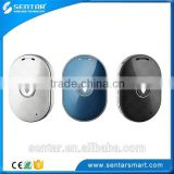 Two-way phone call GSM 350mAh battery SOS panic button white/back/blue GPS tracker for kids and pets