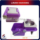 China manufactuer high quality folding rotating metal mop bucket
