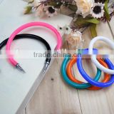 High quality candy color bracelet pen/wrist ballpoint pen