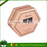 Light Pink Pentagon Desig Essential Oil or Perfume Bottle Packaging Box