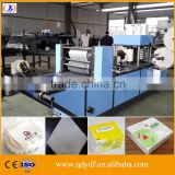 ZYDF180-400 High quality two color printing embossing processsing napkin tissue paper making machine