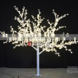 Full white Plastic cherry blossom tree